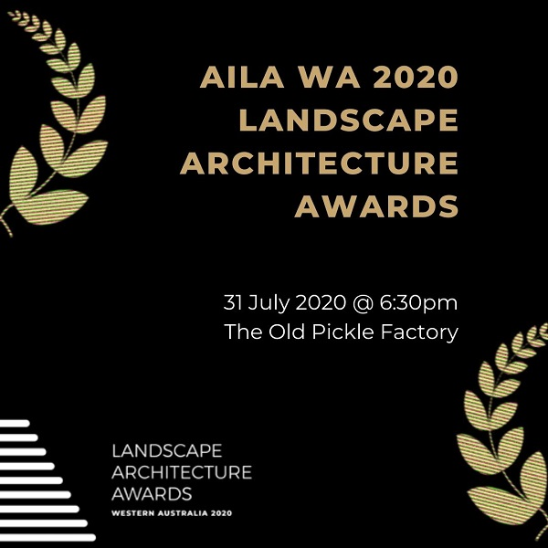 WA 2020 Landscape Architecture Awards Night