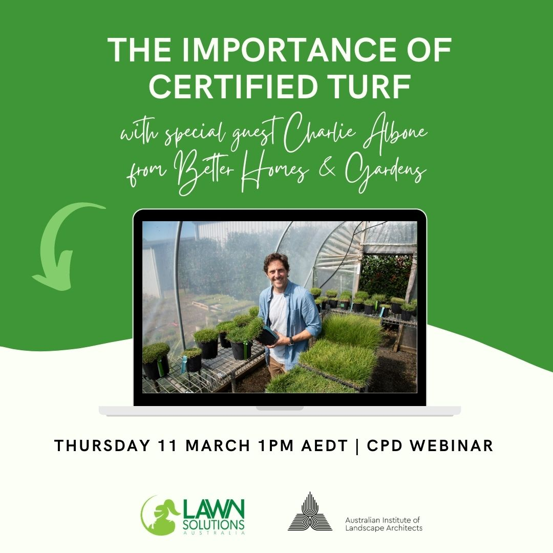 WEBINAR: The Importance of Certified Turf by Lawn Solutions