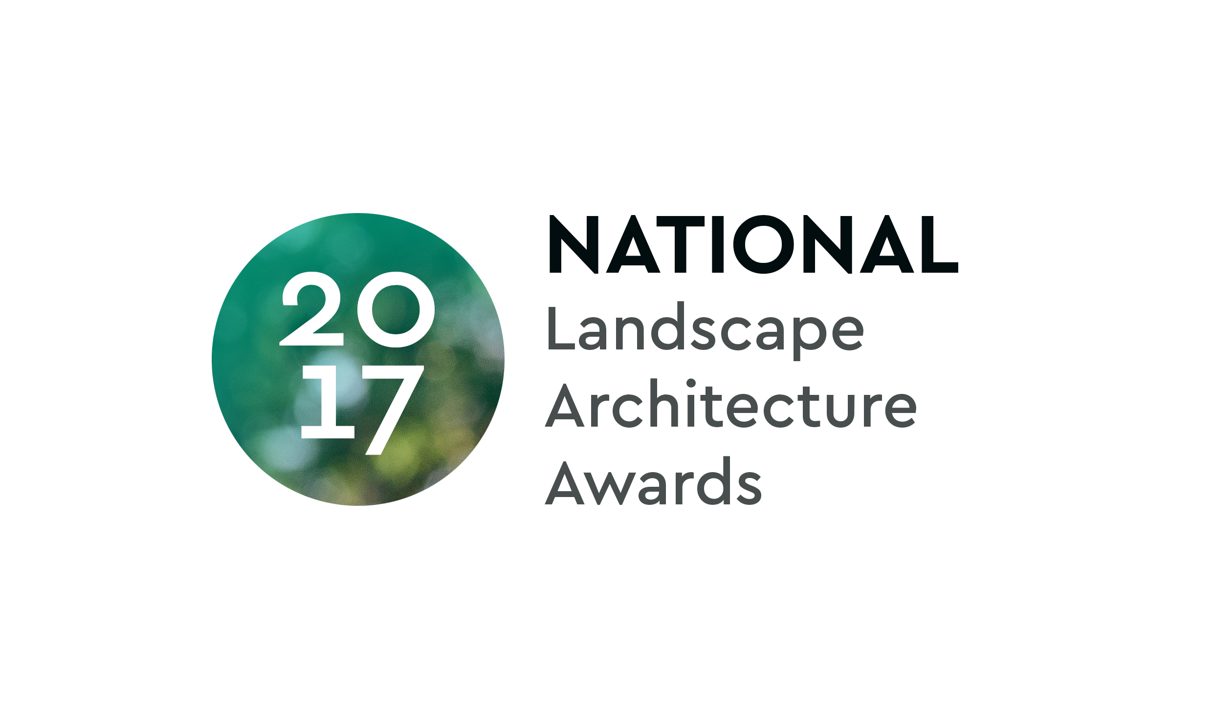 2017 National Landscape Architecture Awards