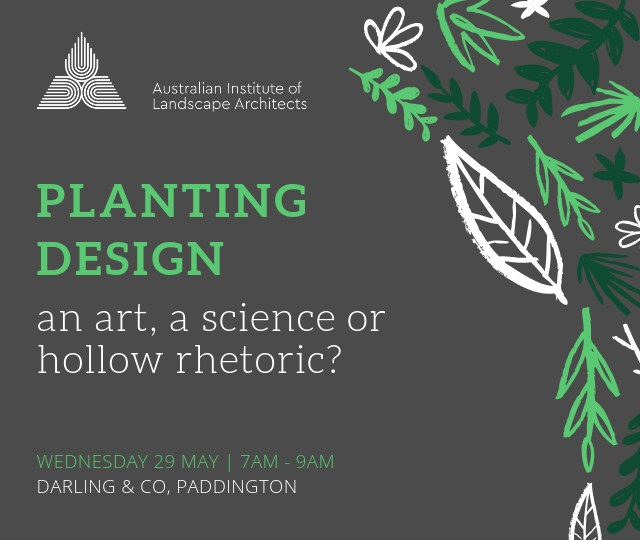 QLD Planting Design - An Art; A Science; Or Hollow Rhetoric?