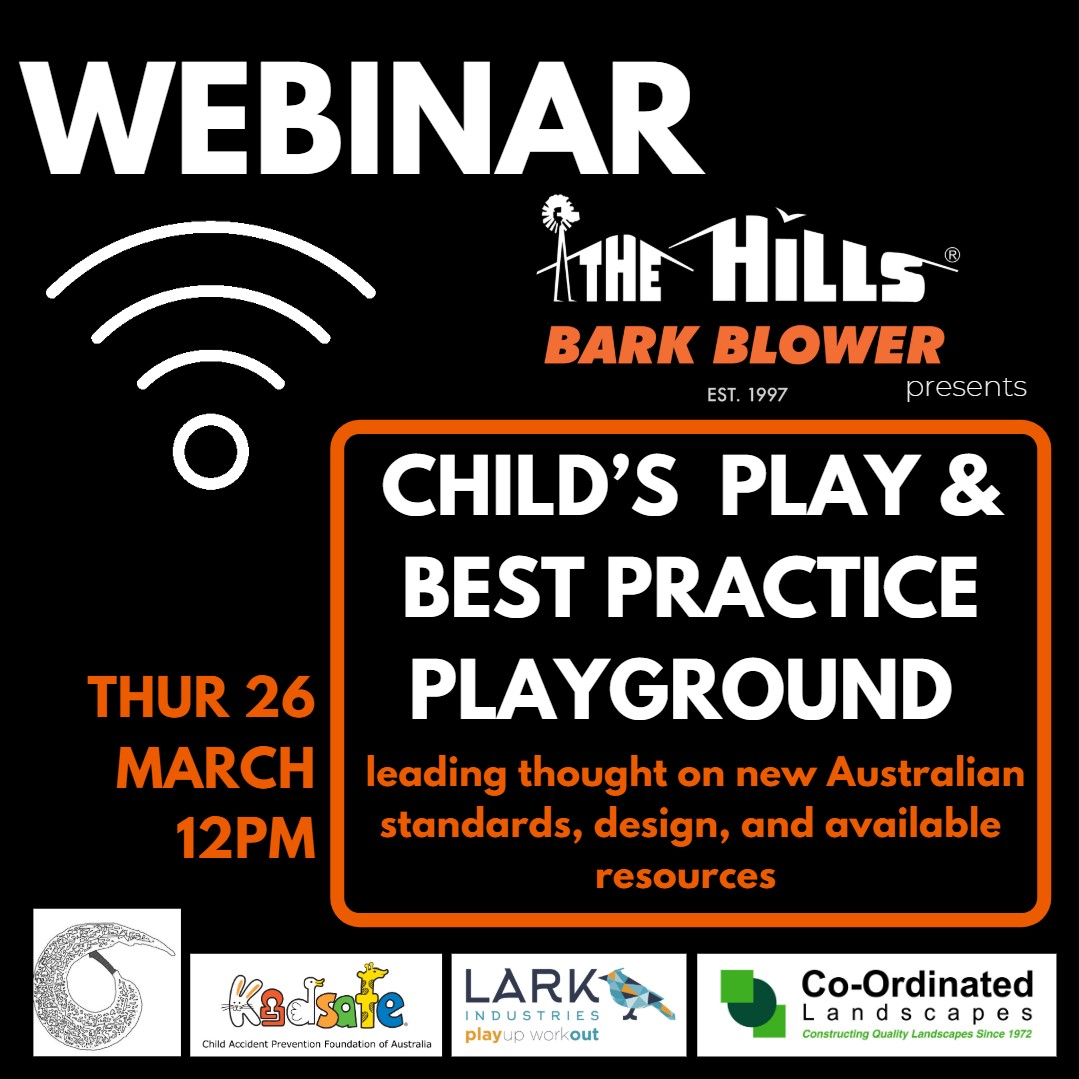 NSW Webinar - Create Best Practice Play Spaces for Fun
